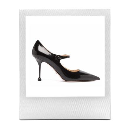 Černé lodičky, Prada, prodává Matchesfashion, 695 €
