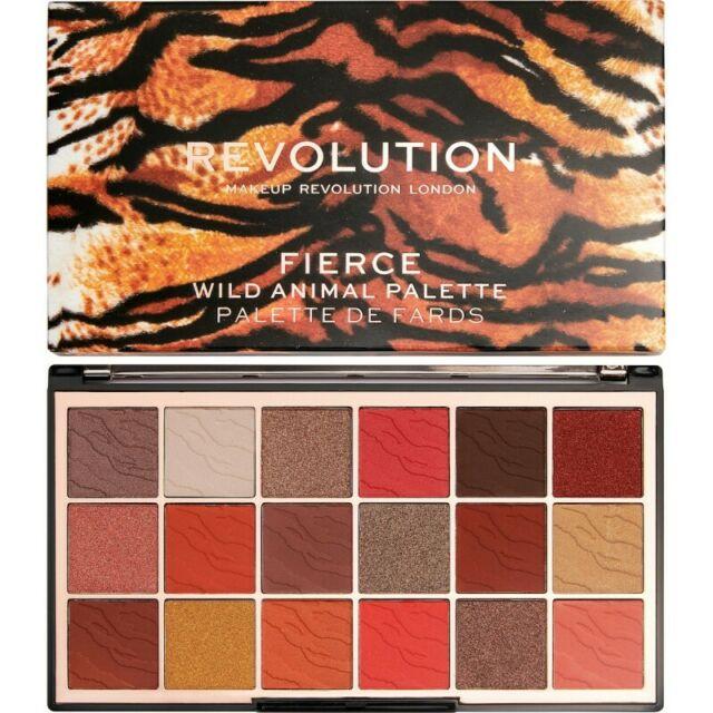 Paletka očních stínů Wild Animal Fierce, Makeup Revolution, 360 Kč  Autor: Archiv firmy