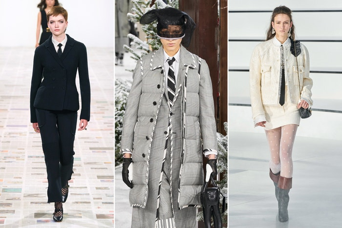 Dior, Thom Browne, Chanel