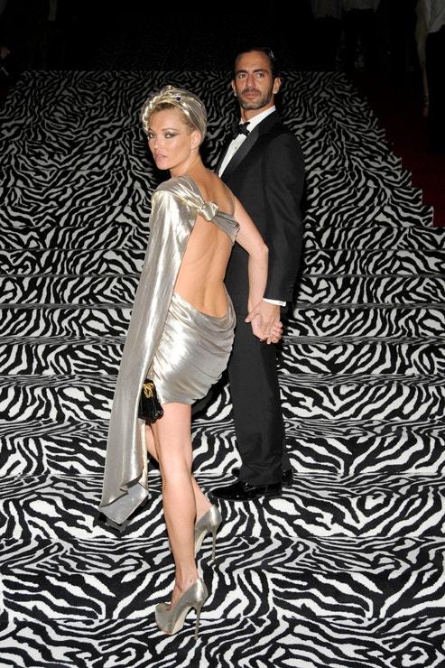 Kate Moss a Marc Jacobs na Met Gala
