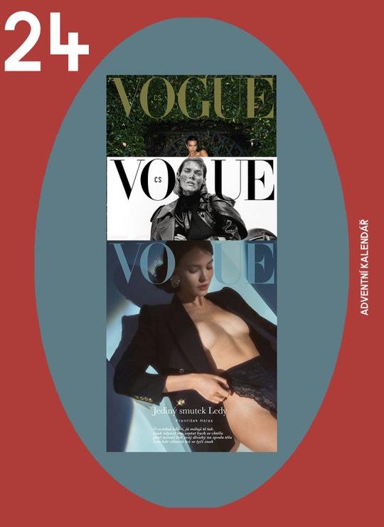 Panikaříte, protože vám ještě chybí nějaký dárek? Věnujte předplatné Vogue Czechoslovakia. Zakupte jej na Vogue.cz, vytiskněte si certifikát a darujte radost po celý rok.