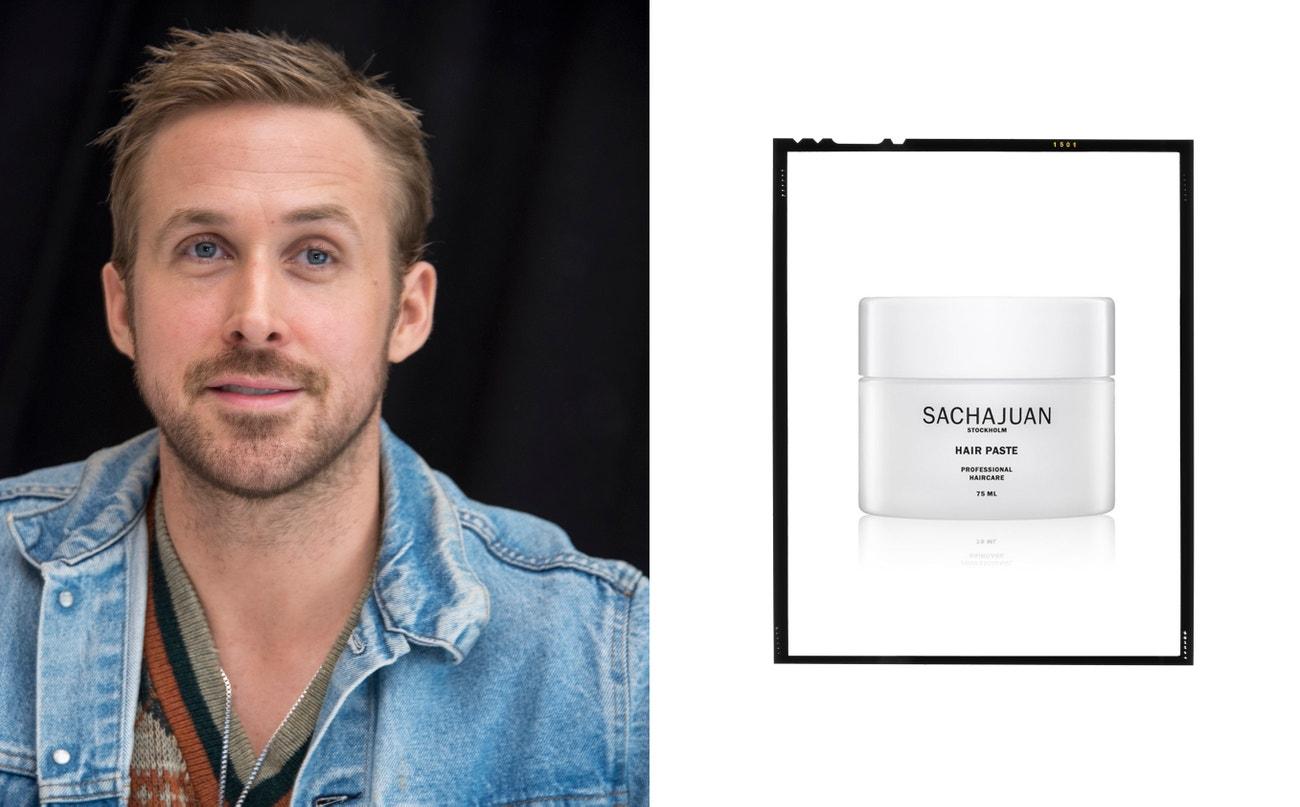 Ryan Gosling.  Hair Paste, Sachajuan, 600 Kč