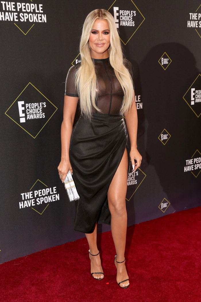 Khloé Kardashian v šatech LaQuan Smith na E! People's Choice Awards 2019 Autor: Christopher Polk/E! Entertainment/NBCU Photo Bank via Getty Images