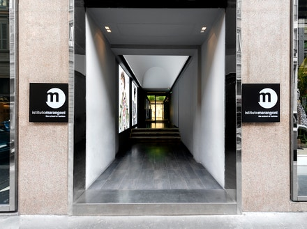 Istituto Marangoni: milánský fashion kampus, vchod do budovy