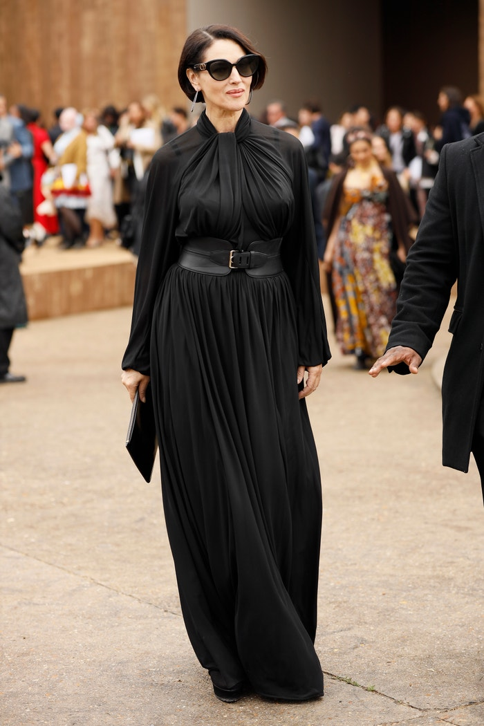 Monica Bellucci 24. září na fashion weeku v Paříži Autor: Hanna Lassen/Getty Images