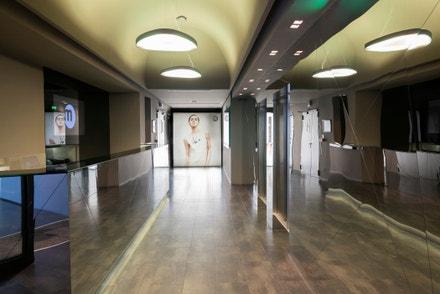 Istituto Marangoni: milánský fashion kampus, foyer