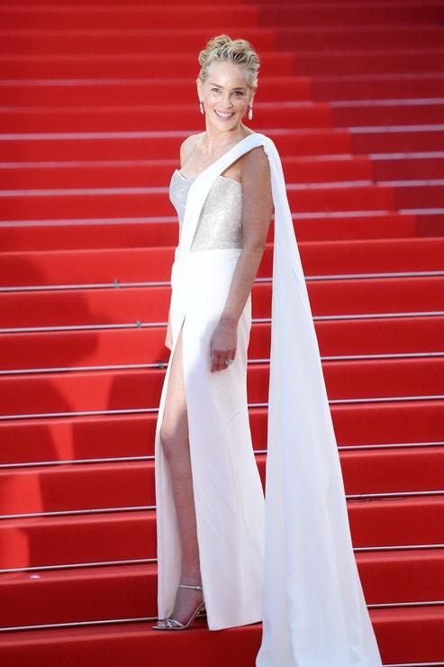 Sharon Stone v šatech Dolce & Gabbana