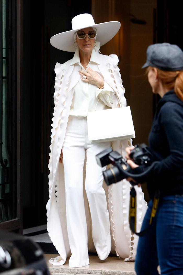 Céline Dion v modelu Ralph & Russo Autor: NurPhoto (Getty Images)