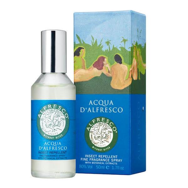 Přírodní repelent s 20 esenciálními oleji, ACQUA D'ALFRESCO, prodává FAnn, 1009 Kč