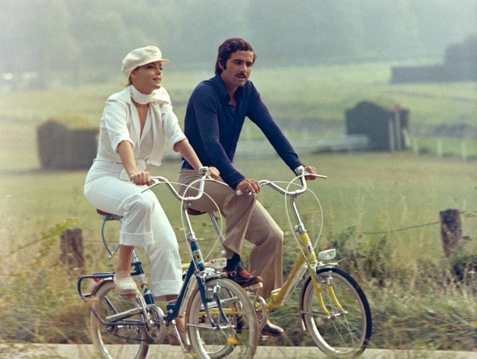 Romy Schneider a Nino Castelnuovo, 1973
