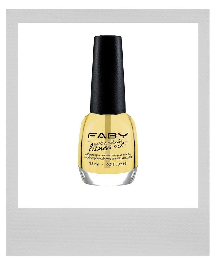 Olej na nehty a nehtovou kůžičku Fitness Oil, FABY, prodává The Nail Store, 395 Kč
