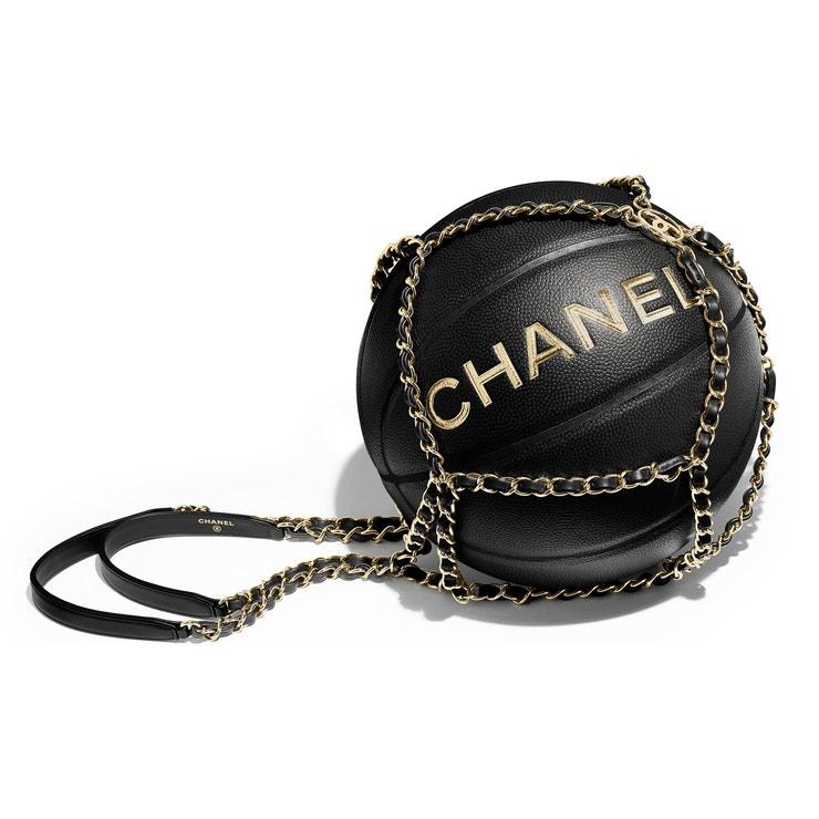 Basketbalový míč, Chanel, 1990 €