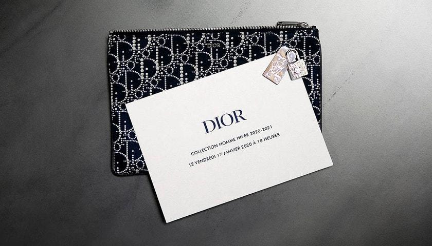 Živě z Paříže: Dior Winter 2020/2021 Men's Show