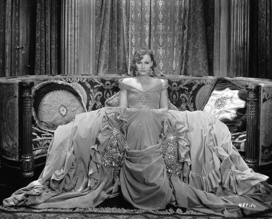 Greta Garbo ve filmu Romance, 1930