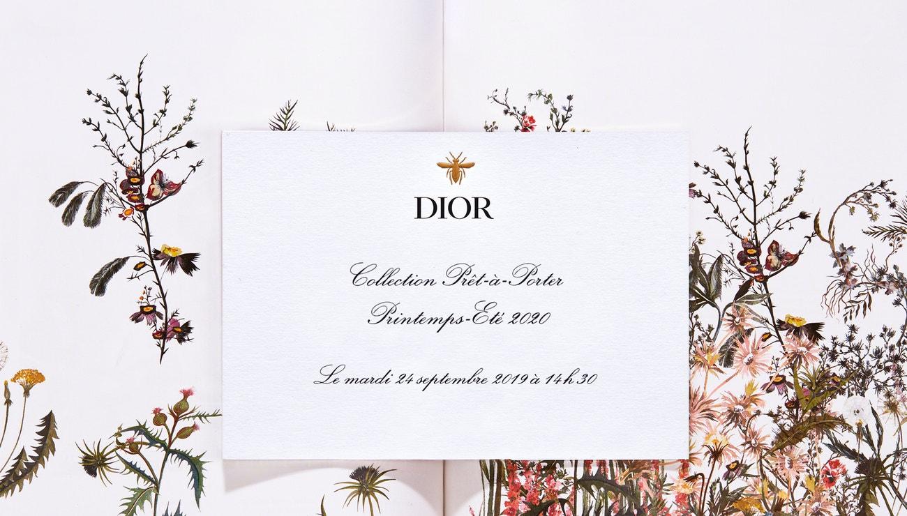 Živě z Paříže: Dior prêt-à-porter SS 2020