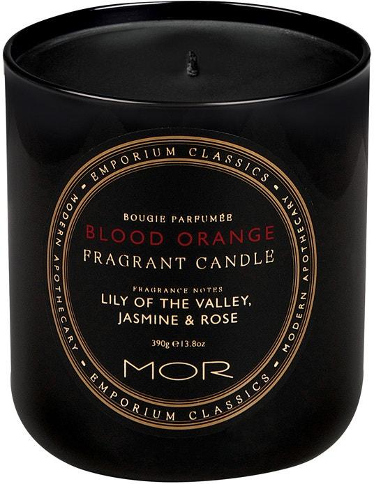 Vonná svíčka Blood orange, Mor boutique, prodává Fragonito, 948 Kč