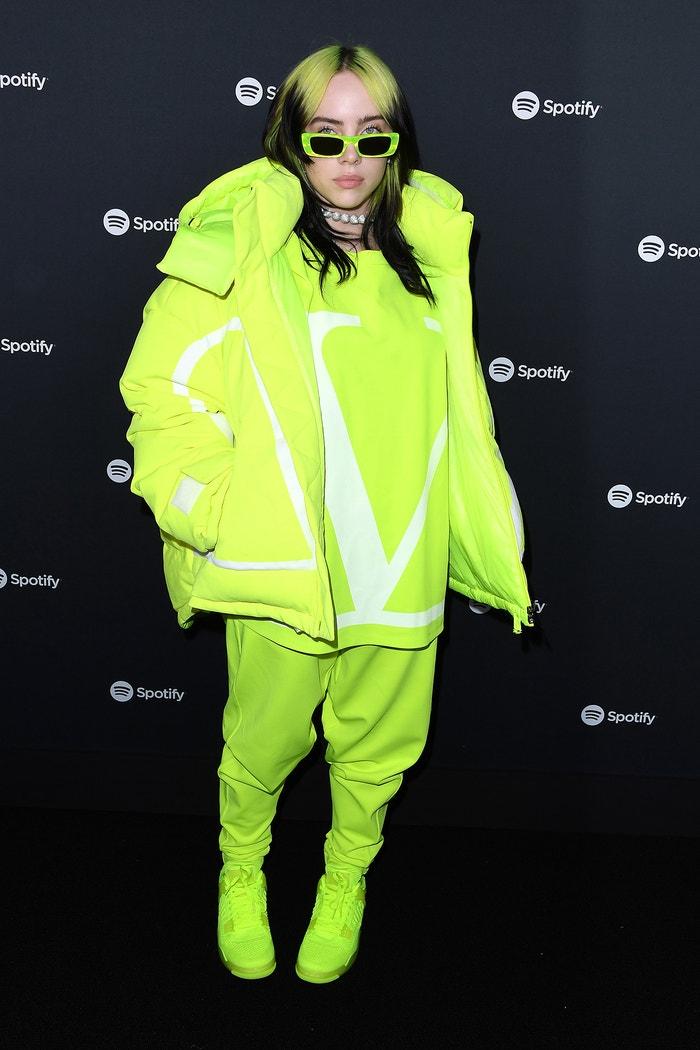 Billie Eilish na party Spotify, leden 2020 Autor: Getty Images
