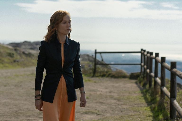 Isabelle Huppert ve filmu Frankie
