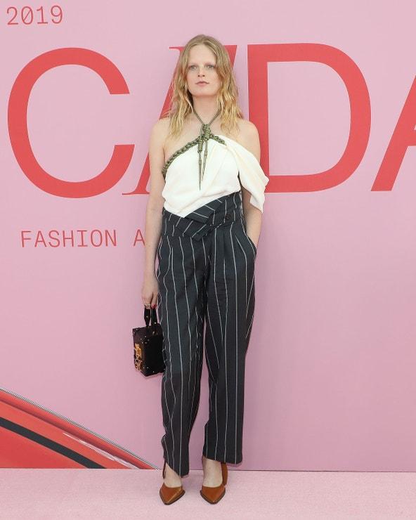 Hanne Gaby Odiele na CFDA Awards