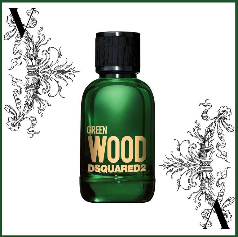 Toaletní voda Green Wood, DSQUARED2, prodává FAnn, od 1249 Kč