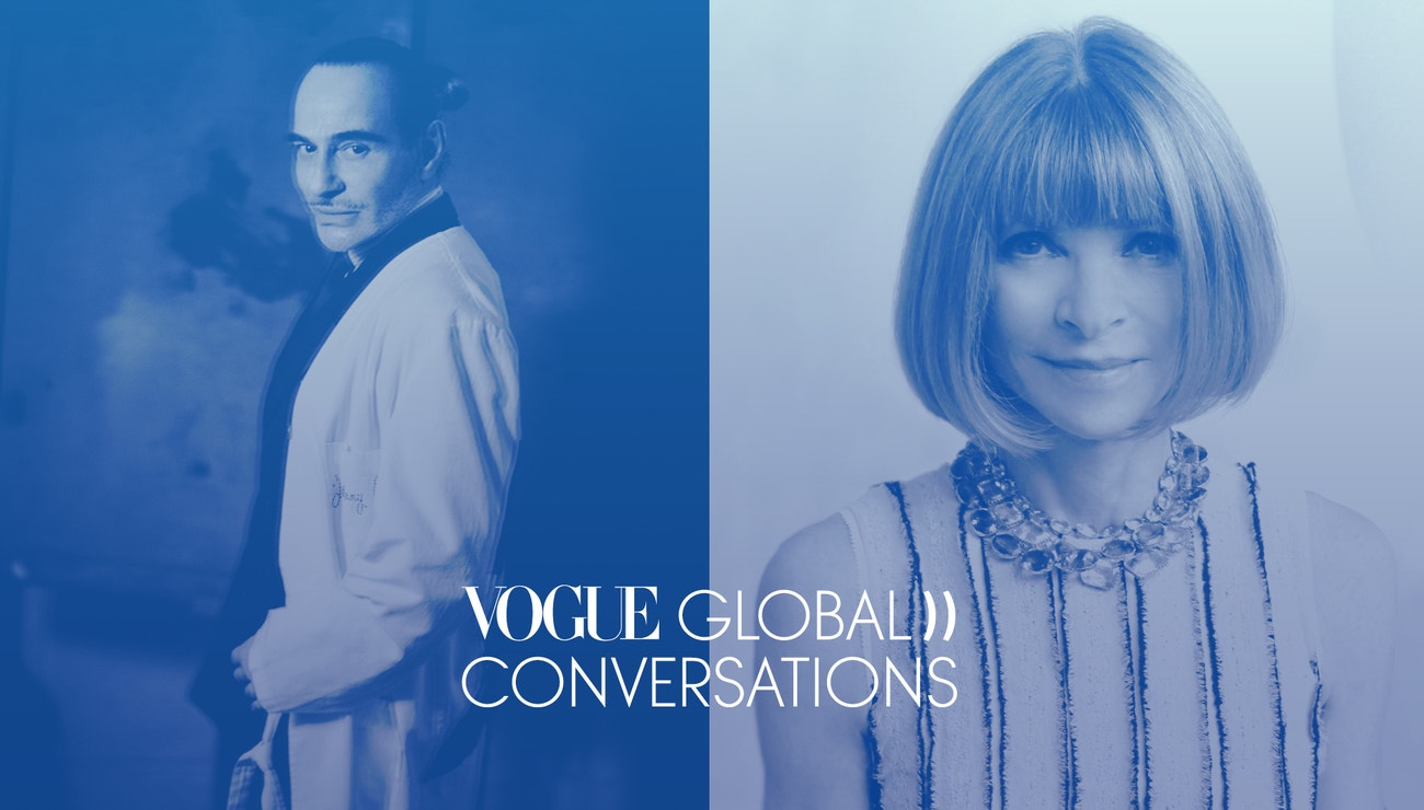 John Galliano a Anna Wintour o svobodě a kreativitě během krize