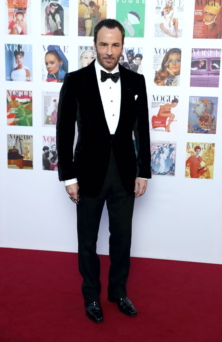 Tom Ford na Vogue 100 Festival v Londýně, květen 2016