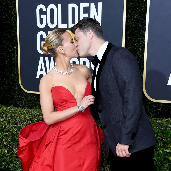 Scarlett Johansson a Colin Jost Autor: Daniele Venturelli/WireImage