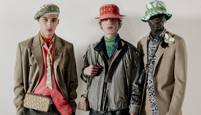 Živě z Miami: Dior Men Fall 2020