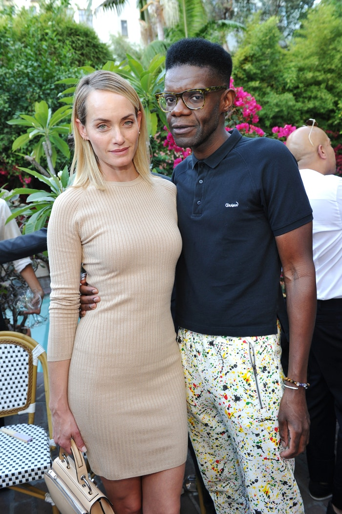 Victor Glemaud a Amber Valletta Autor: Getty Images