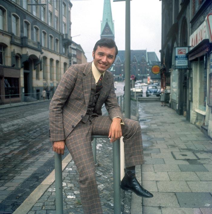 Karel Gott v září 1968 in Hamburku Autor: Profimedia