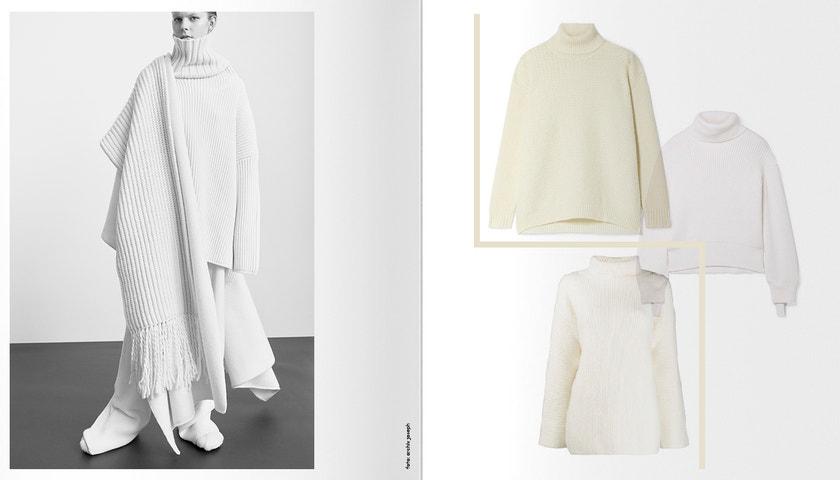 #WishList: 8 must-have bílých svetrů