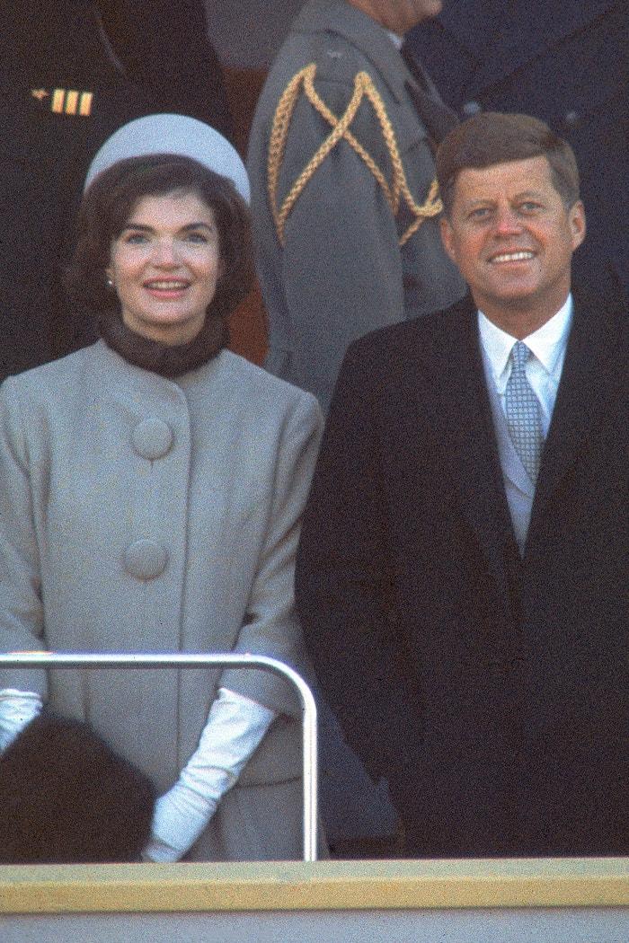 Jackie Kennedy a JFK Autor: Getty Images