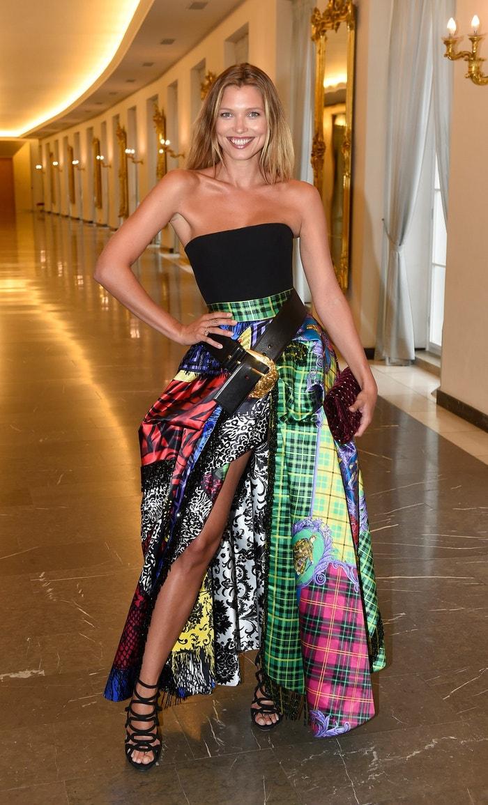 Hana Jiříčková na Schwarzkopf Elite Model Look 2018 v Praze           Autor: Profimedia.cz