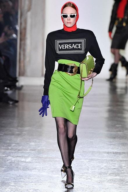 Versace, Milan Fashion Week, Fall/Winter 2018/19