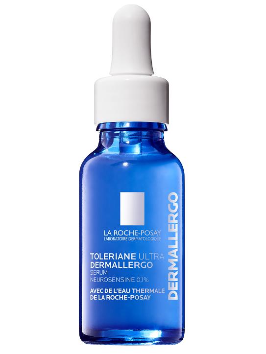 Zklidňující sérum Tolerance Ultra Dermallergo pro ultracitlivou a alergickou pleť, LA ROCHE POSAY, prodává Benu, 689 Kč