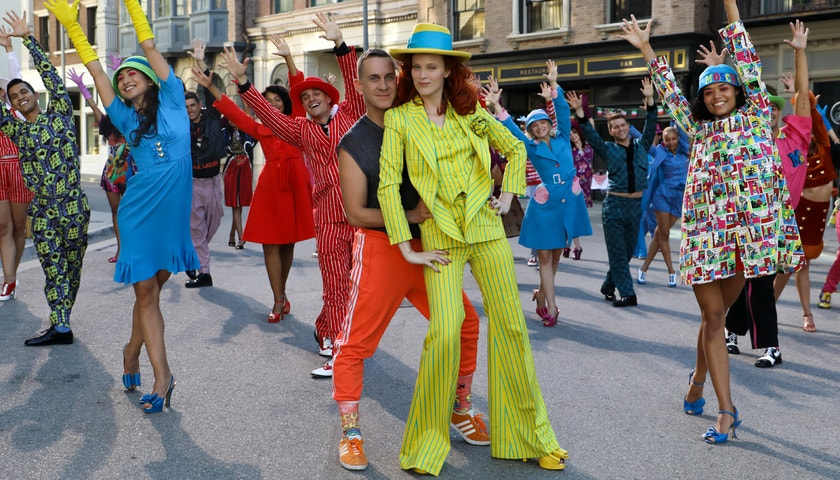 Jeremy Scott and his muse, Karen Elson, talk fantasy, friendship and the joy of fashion