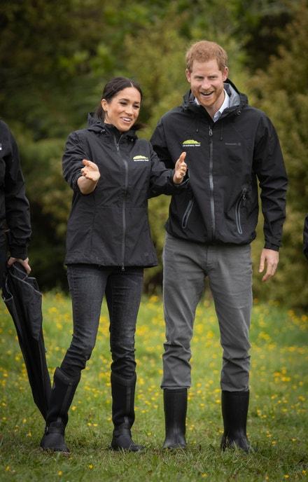 Meghan Markle a princ Harry v roce 2018
