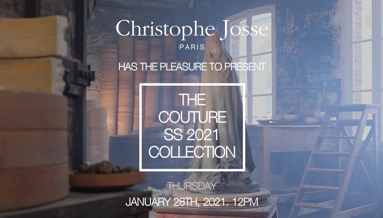 Christophe Josse Haute Couture jaro–léto 2021