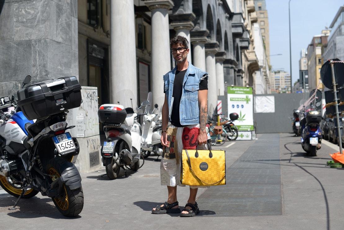 Milan Fashion Week Men's SS22