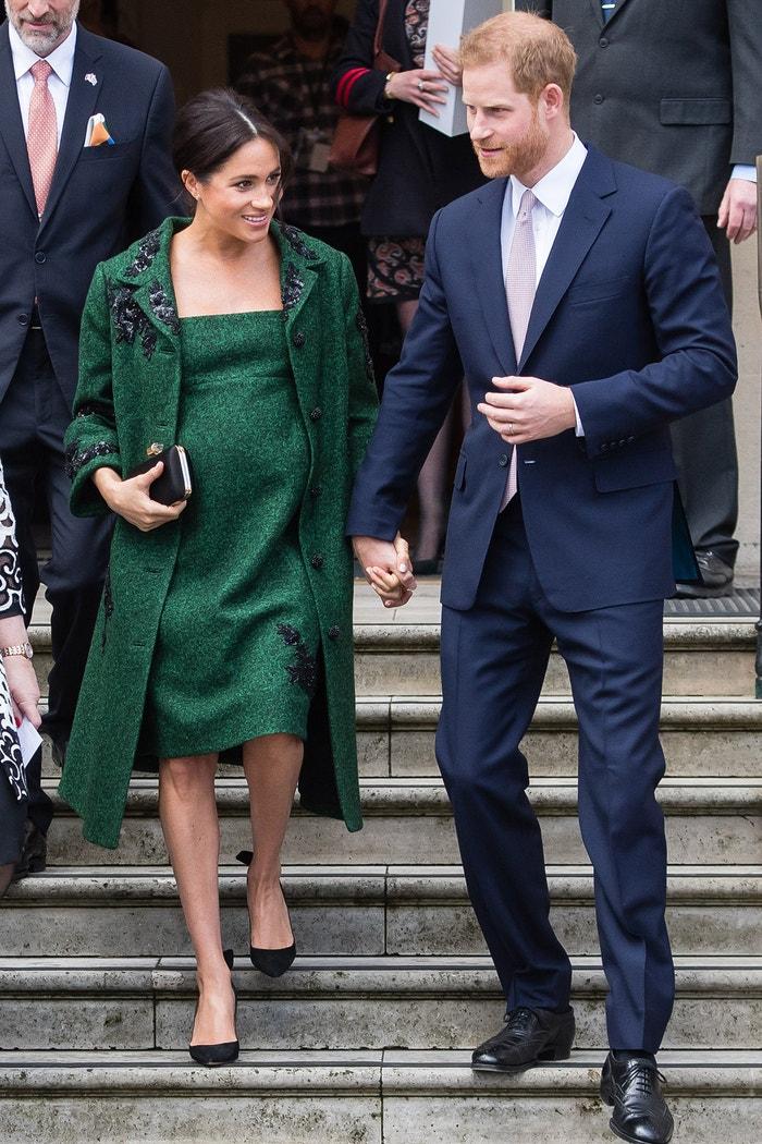 Princ Harry, vévoda ze Sussexu, a Meghan, vévodkyně ze Sussexu, Commonwealth Day 2019, Canada House, Londýn, březen 2019 Autor: Samir Hussein/WireImage/Getty Images