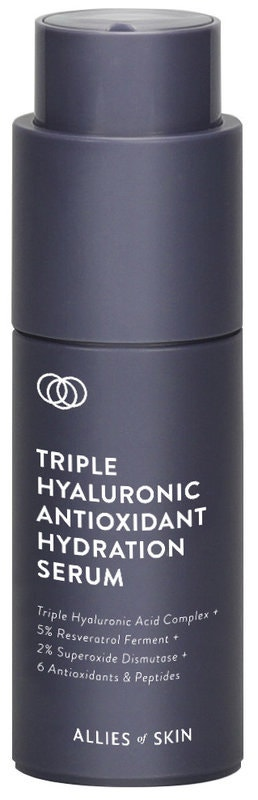 Triple Hyaluronic Antioxidant Hydrating Serum, Allies of Skin, prodává Ingredients, 2250 Kč