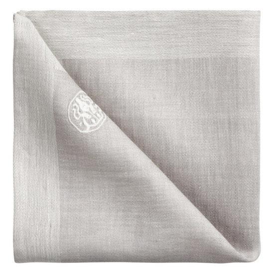 Látkový ubrousek grey 45 x 45 cm PLAIN, Georg Jensen Damask, prodává Kulina, 425 Kč/ks