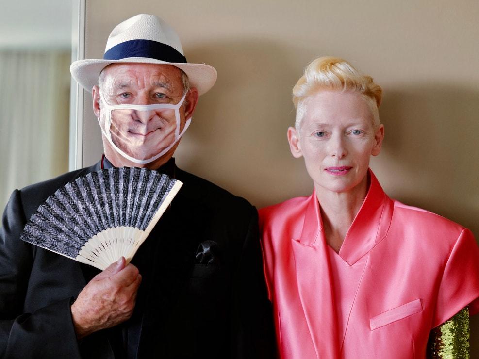 Bill Murray a Tilda Swinton