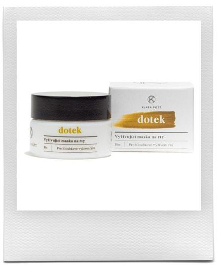 Vyživující maska na rty pro hloubkové vyživení rtů, Klara Rott, prodává Dr.Max, 579 Kč