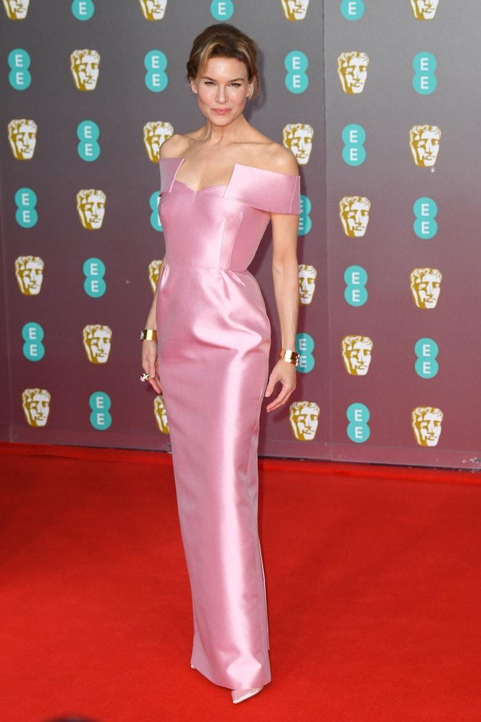 Renée Zellweger in Prada at the BAFTA Awards. Autor: Getty Images