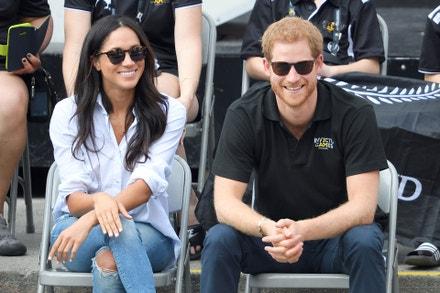 Princ Harry a Meghan Markle, Toronto, Kanada, září 2017