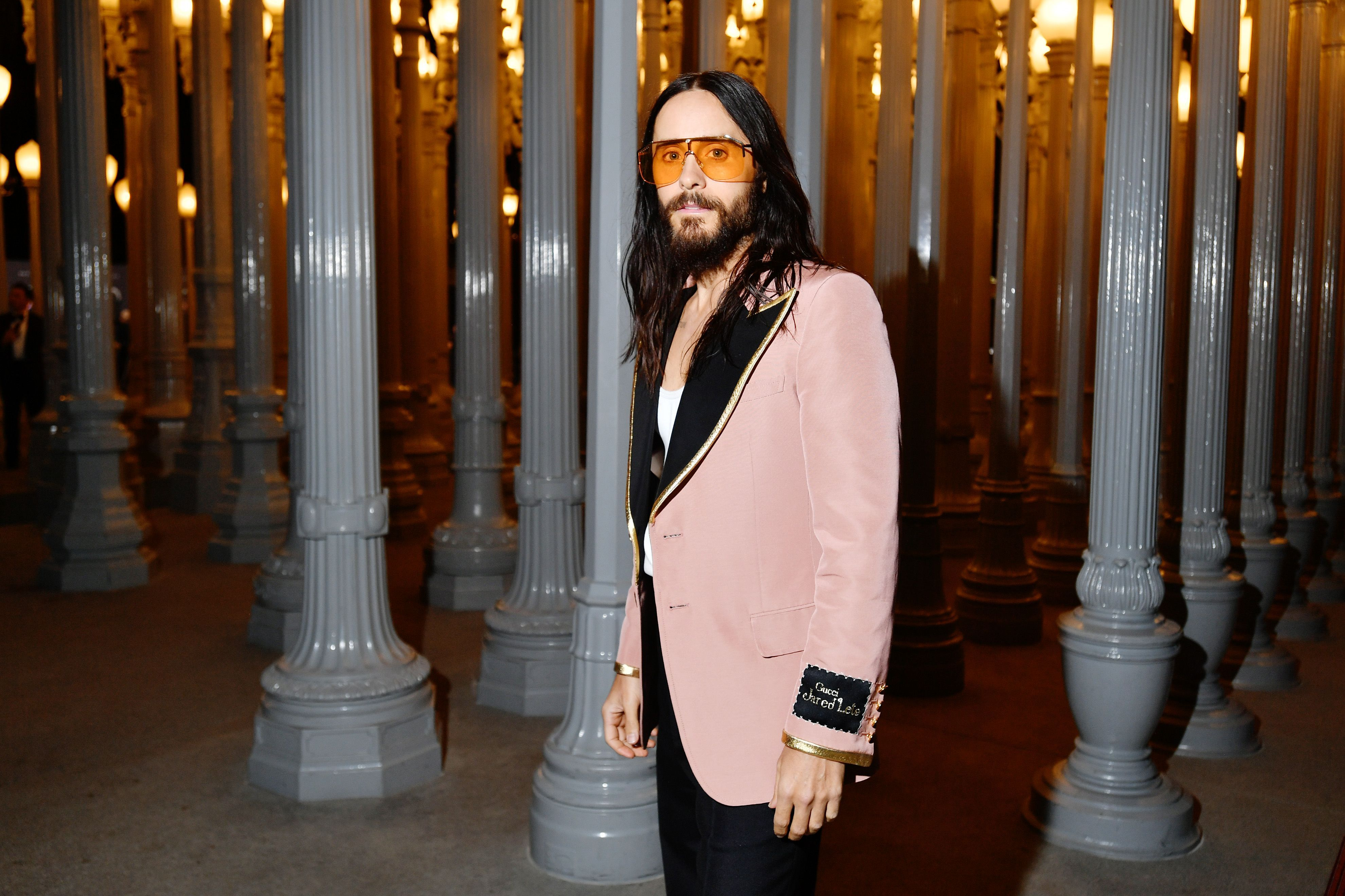 Jared Leto in Gucci, 2019 LACMA Art + Film Gala Presented By Gucci Autor: Emma McIntyre/Getty Images for LACMA